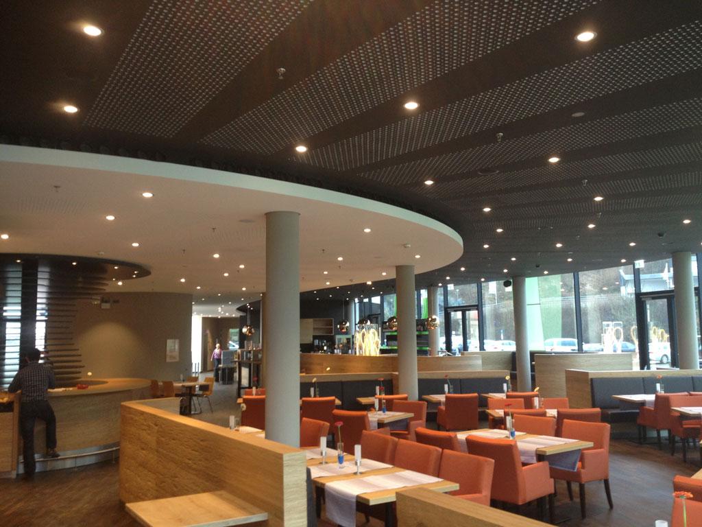 Referenzen gastronomie foyers novojet for Raumgestaltung gastronomie